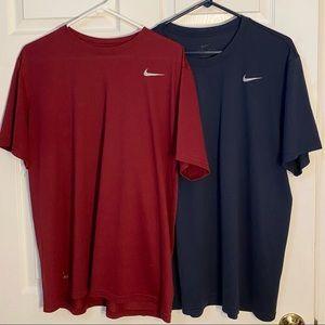 2 Men's Nike Dry-Fit T-shirts XL
